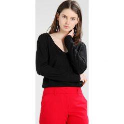 Swetry damskie: Vila VIPALONA PUFF SLEEVE Sweter black