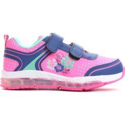 Granatowe Buty Sportowe Make It. Niebieskie buty sportowe dziewczęce marki Born2be, z materiału, z okrągłym noskiem. Za 69,99 zł.