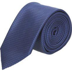 Krawaty męskie: krawat platinum granatowy classic 238