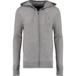 Swetry rozpinane męskie: AllSaints Kardigan putty grey marl