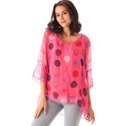 Bluzki damskie: Koszulka w kolorze fuksji