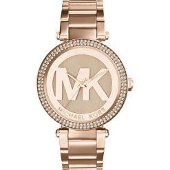 ZEGAREK MICHAEL KORS MK5865. Czerwone zegarki damskie Michael Kors, ze stali. Za 1299,00 zł.