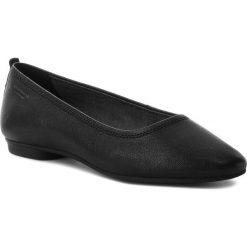 Baleriny VAGABOND - Sandy 4503-101-20 Black. Czarne baleriny damskie marki Vagabond, z materiału, na płaskiej podeszwie. W wyprzedaży za 229,00 zł.