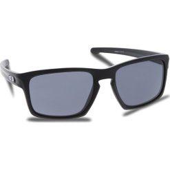 Okulary przeciwsłoneczne OAKLEY - Sliver OO9262-01 Polished Black/Black Iridium. Czarne okulary przeciwsłoneczne męskie aviatory Oakley, z tworzywa sztucznego. W wyprzedaży za 419,00 zł.