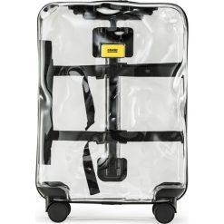 Walizka Share Transparent średnia. Szare walizki marki Crash Baggage, w kolorowe wzory, z materiału, średnie. Za 1200,00 zł.