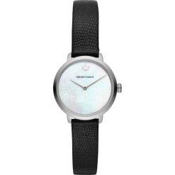 Zegarek EMPORIO ARMANI - Modern Slim AR11159 Black/Silver. Czarne zegarki damskie Emporio Armani. Za 999,00 zł.