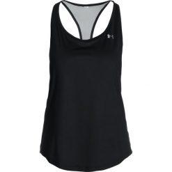 Under Armour BACK TANK Koszulka sportowa black. Czarne t-shirty damskie Under Armour, xl, z elastanu. Za 129,00 zł.