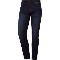 Emporio Armani Jeansy Slim Fit denim blu. Szare jeansy męskie relaxed fit marki Emporio Armani, l, z bawełny, z kapturem. Za 669,00 zł.