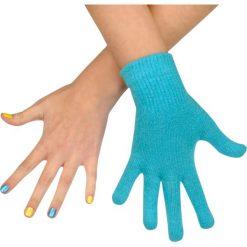Rękawiczki damskie: Art of Polo Rękawiczki damskie wełniane turkusowe (rk979)