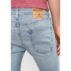 Hollister Co. Jeansy Slim Fit light. Niebieskie jeansy męskie Hollister Co. Za 209,00 zł.