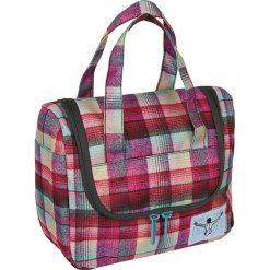 """Kosmetyczka """"Toiletery"""" w kolorze czerwonym - 25 x 20 x 12 cm. Czerwone kosmetyczki męskie Chiemsee Bags. W wyprzedaży za 61,95 zł."""