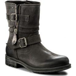 Botki JANA - 8-25317-29 Graphite 206. Szare buty zimowe damskie Jana, z nubiku, na obcasie. W wyprzedaży za 299,00 zł.