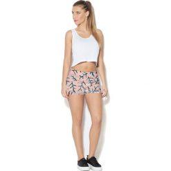 Colour Pleasure Spodnie damskie CP-020 276 różowe r. 3XL/4XL. Czerwone spodnie sportowe damskie marki Colour pleasure, xl. Za 72,34 zł.