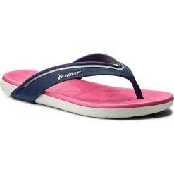 Chodaki damskie: Japonki RIDER - Elite Fem 82205 Grey/Blue/Pink 24106