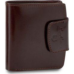 Mały Portfel Damski STEFANIA - SV-005D Brązowy. Czarne portfele damskie marki Stefania, ze skóry. Za 109,00 zł.