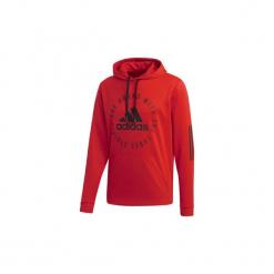 Bluzy adidas  Bluza z kapturem Sport ID. Czerwone bluzy męskie rozpinane marki KALENJI, m, z elastanu, z długim rękawem, długie. Za 269,00 zł.