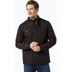 Finshley & Harding - Męska kurtka pikowana – Black Label, czarny. Czarne kurtki męskie pikowane marki Finshley & Harding, w kratkę. Za 249,95 zł.