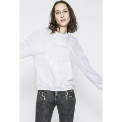Lee - Bluza. Szare bluzy z nadrukiem damskie Lee, l, z bawełny. W wyprzedaży za 149,90 zł.