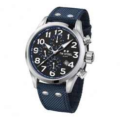 """Zegarek """"VS34"""" w kolorze niebiesko-srebrnym. Niebieskie, analogowe zegarki męskie Dugena & Nautec No Limit, srebrne. W wyprzedaży za 989,95 zł."""