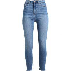 New Look 5 POCKET VANESSA Jeans Skinny Fit mid blue. Czarne jeansy damskie marki New Look, z materiału, na obcasie. Za 139,00 zł.