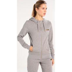 Bluzy rozpinane damskie: Only Play ONPGOLD GLITTER Bluza rozpinana medium grey melange