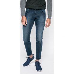 Wrangler - Jeansy Fly Ball. Niebieskie jeansy męskie skinny marki Wrangler. W wyprzedaży za 229,90 zł.