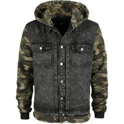 Forplay Hooded Jeans Vest Kurtka kamuflaż/czarny. Niebieskie kurtki męskie jeansowe marki Reserved, l. Za 199,90 zł.