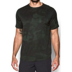 Under Armour Koszulka męska Sportstle Core Tee Zielona r. XL (1303705-357). Szare koszulki sportowe męskie marki Under Armour, z elastanu, sportowe. Za 119,90 zł.