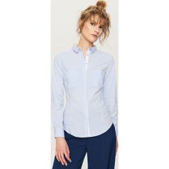 Elegancka koszula - Niebieski. Białe koszule chłopięce marki FOUGANZA, z bawełny. Za 59,99 zł.