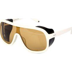 """Okulary przeciwsłoneczne """"BY4061A03"""" w kolorze biało-czarnym. Brązowe okulary przeciwsłoneczne damskie marki Triwa, z tworzywa sztucznego. W wyprzedaży za 299,95 zł."""