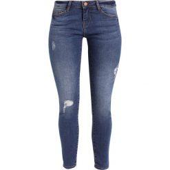 Boyfriendy damskie: Noisy May Petite NMEVE  Jeansy Slim Fit medium blue denim
