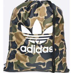 Adidas Originals - Plecak. Szare plecaki damskie adidas Originals, z poliesteru. W wyprzedaży za 69,90 zł.