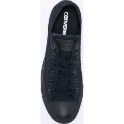 Converse - Tenisówki. Czarne tenisówki męskie Converse, z materiału, na sznurówki. Za 279,90 zł.