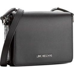Torebka LOVE MOSCHINO - JC4254PP04KG100A Nero. Czarne torebki klasyczne damskie marki Love Moschino. W wyprzedaży za 429,00 zł.