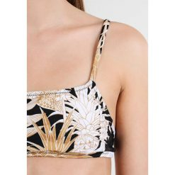Bikini: MINKPINK TROPICAL PUNCH CROP  Góra od bikini black/gold