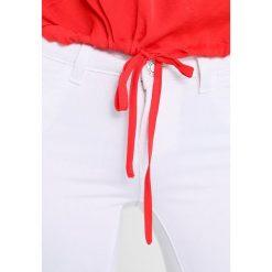 Bluzki asymetryczne: Noisy May NMHEIDI LOOSE Bluzka flame scarlet