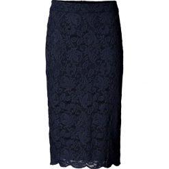 Spódniczki: Spódniczka koronkowa bonprix ciemnoniebieski