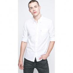Levi's - Koszula Mainline. Brązowe koszule męskie na spinki marki Levi's®, l, w kratkę, z bawełny, button down, z długim rękawem. Za 239,90 zł.