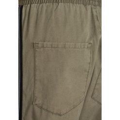 LMTD NLMEDANTE SLIM PANT Spodnie materiałowe dusky green. Brązowe rurki dziewczęce LMTD, z bawełny. W wyprzedaży za 135,20 zł.