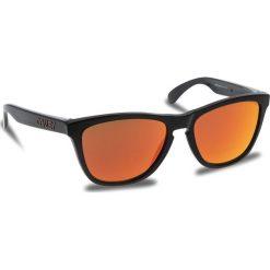 Okulary przeciwsłoneczne OAKLEY - Frogskins OO9013-C955 Black Ink/Prizm Ruby. Brązowe okulary przeciwsłoneczne damskie aviatory Oakley. W wyprzedaży za 419,00 zł.