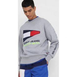 Tommy Jeans 90S Bluza grey. Szare bluzy męskie Tommy Jeans, m, z bawełny. W wyprzedaży za 389,35 zł.
