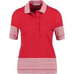 Bluzki damskie: Lacoste Koszulka polo rouge/farine