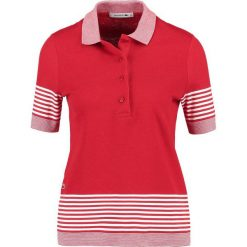 T-shirty damskie: Lacoste Koszulka polo rouge/farine