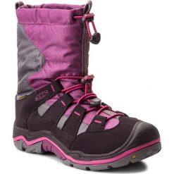 Śniegowce KEEN - Winterport II Wp 1015250 Purple Wine/Very Berry. Fioletowe buty zimowe damskie Keen, z materiału. W wyprzedaży za 199,00 zł.