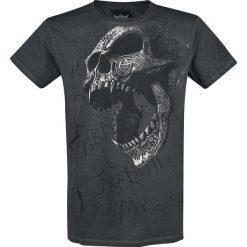 T-shirty męskie: Alchemy England Berserker Skull T-Shirt ciemnoszary (Anthracite)
