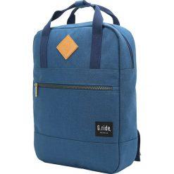 Plecak w kolorze niebieskim - 26 x 36 x 9 cm. Niebieskie plecaki męskie marki G.ride, z tkaniny. W wyprzedaży za 99,95 zł.