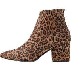 Vero Moda VMASTRID LEO Ankle boot tobacco brown. Brązowe botki damskie skórzane Vero Moda. Za 459,00 zł.