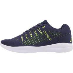 Kappa NEXUS Obuwie do biegania treningowe navy/lime. Szare buty do biegania męskie marki Kappa, z gumy. Za 149,00 zł.