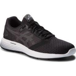 Buty ASICS - Patriot 10 1012A117  Black/White 002. Czarne buty do biegania damskie Asics, z materiału. W wyprzedaży za 189,00 zł.