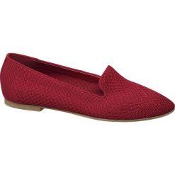 Lordsy damskie Graceland czerwone. Czerwone lordsy damskie Graceland, z materiału. Za 89,90 zł.